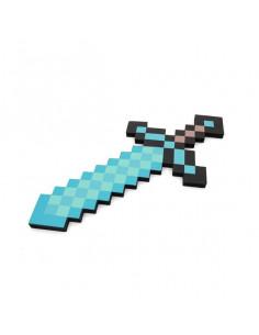 Пиксельный алмазный меч  Майнкрафт Minecraft Diamond miniSword 45 см