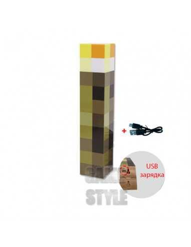 Светильник Факел Minecraft аккамуляторный USB