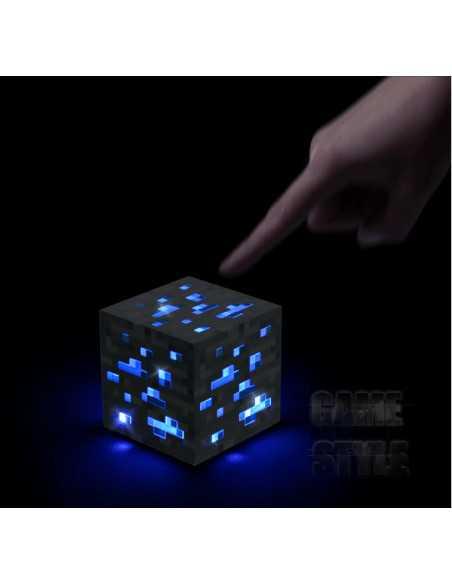 Ночник Алмазная руда Minecraft как включить