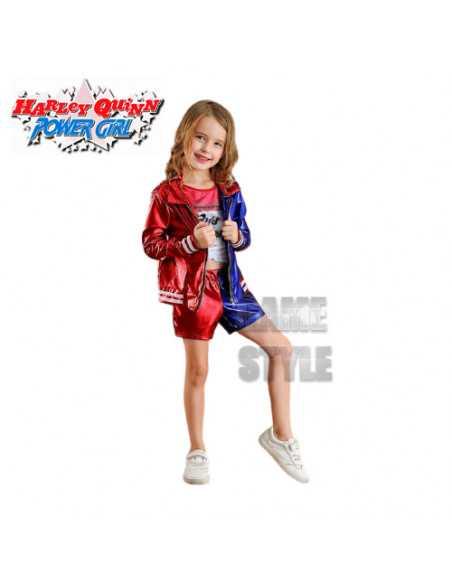 Детский костюм Харли Квинн на девочку