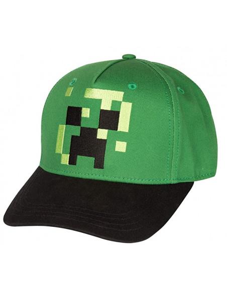 Сетчатая кепка снепбек Minecraft Creeper для мальчиков 52-56 см