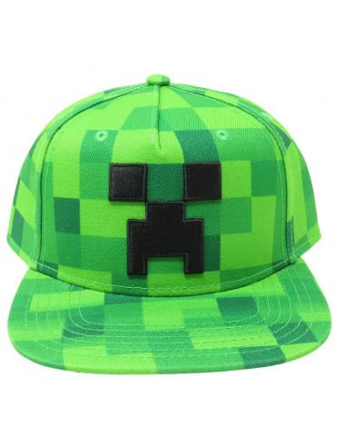 Кепка снепбек Minecraft Creeper Jinx