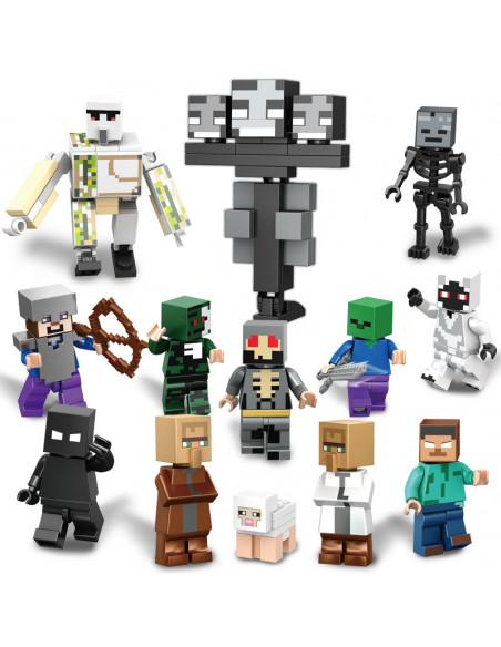 Набор фигурок из игры Minecraft совместимых с LEGO 13 штук