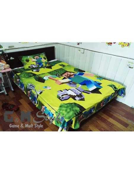 Детское постельное белье Minecraft (комплект) 150