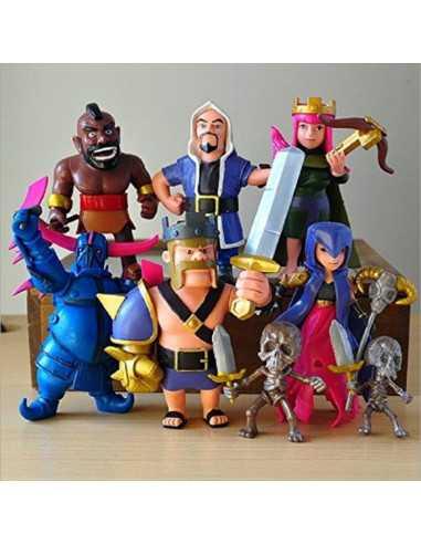 Набор фигурок героев из игры Clash of Clans