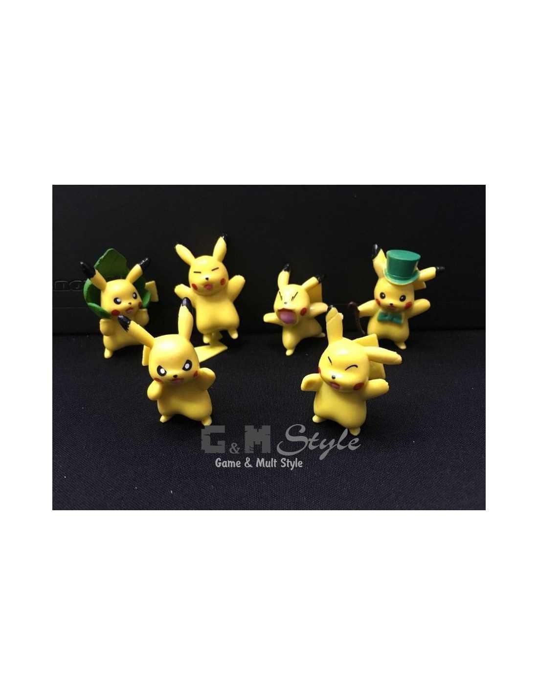 Фигурки Пикачу из Pokemon Go