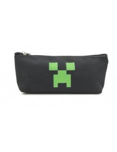 Пенал Minecraft Creeper чёрный