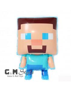 Фигура надувная Minecraft Steve (Майнкрафт Стив)