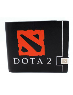 Кошелек с логотипом Dota2 чёрный