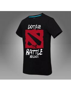 Футболка Dota2 The Battle Beginds чёрная
