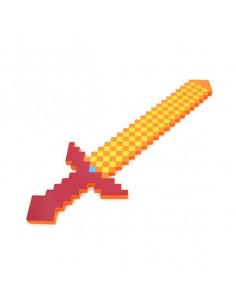 Большой огненный меч Minecraft