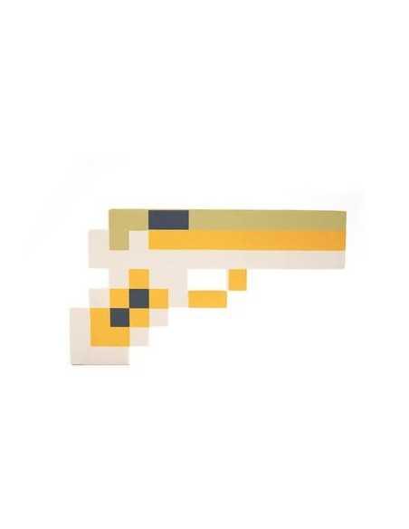 Золотой пистолет Майнкрафт (Minecraft)