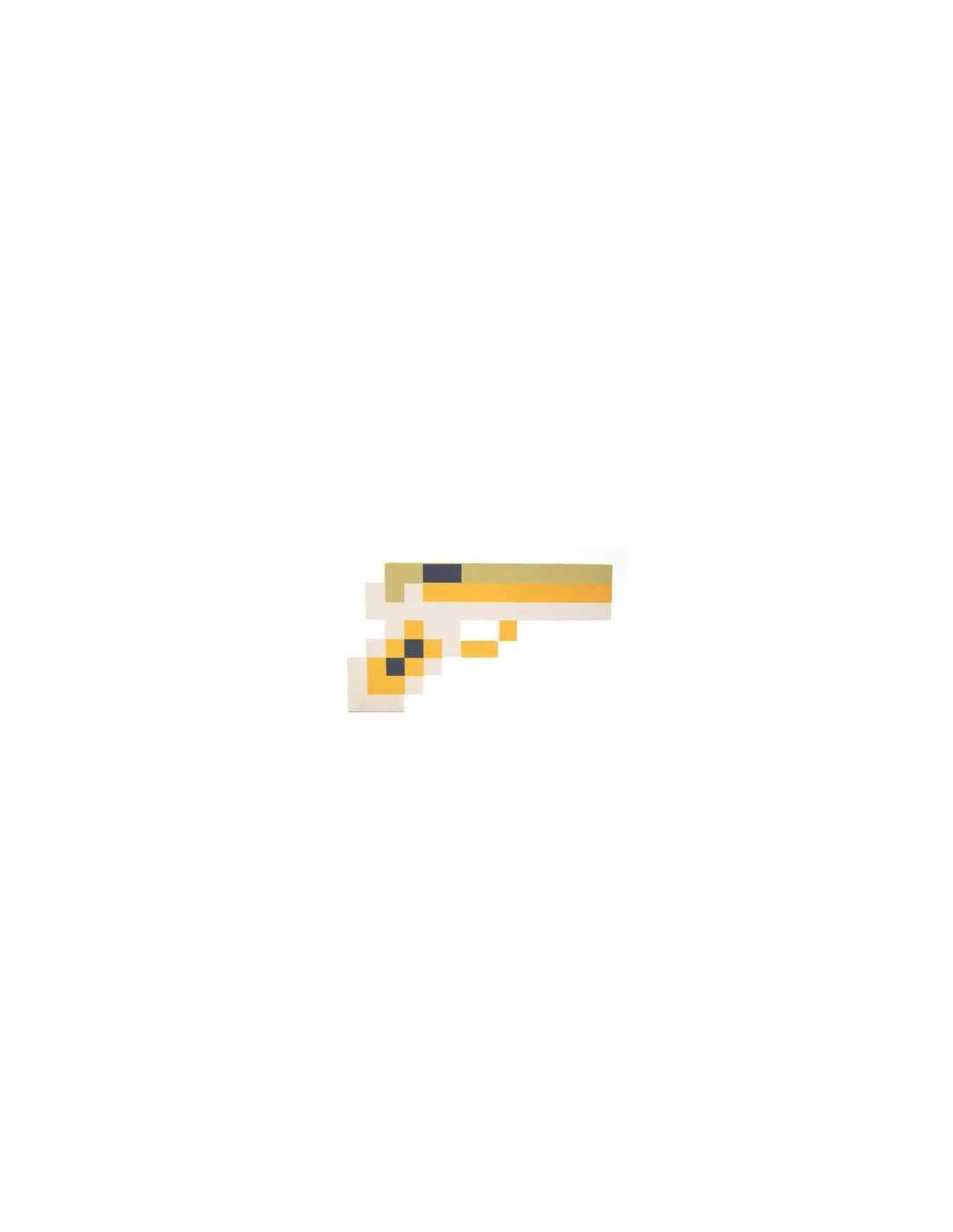 Золотой пистолет Minecraft