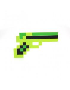 Изумрудный пистолет Minecraft (зеленый)