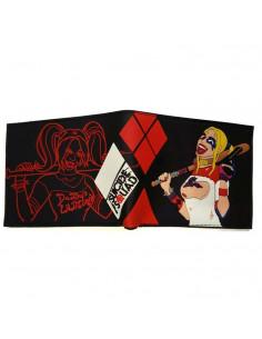 Кошелек бумажник Suicide Squad с оторвой Харли