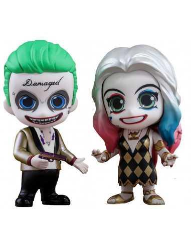Набор фигурок Joker + Harley Quinn, Cosbaby