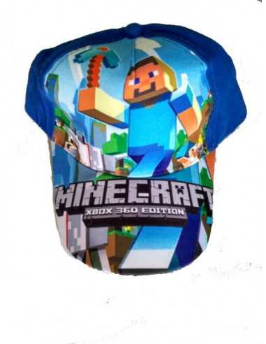 Кепка блайзер детская Minecraft синяя