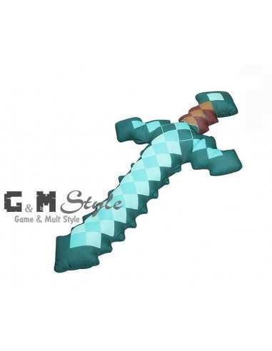 Мягкая игрушка Алмазный меч Minecraft