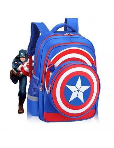 Рюкзак школьный Captain America, Marvel синий