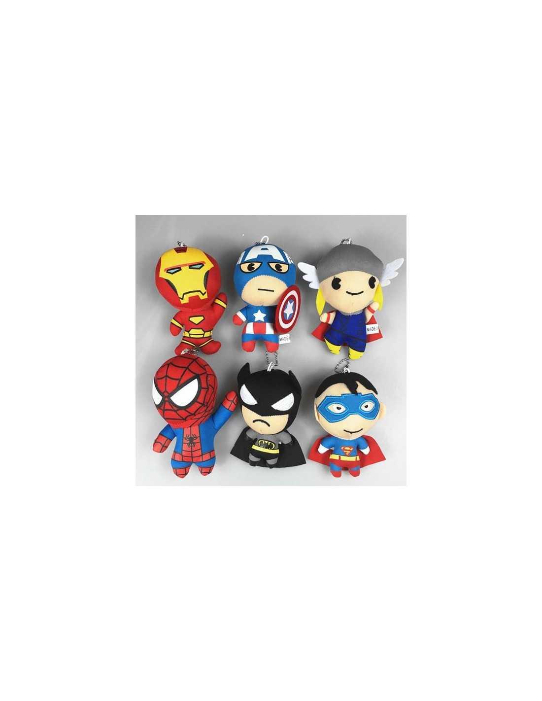 Плюшевые подвески Marvel