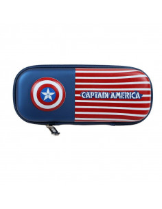 Пенал Marvel Captain America с флагом