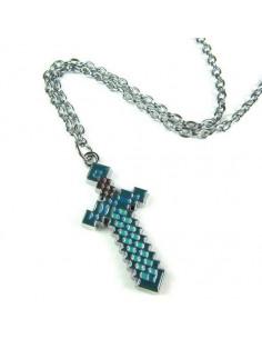 """Кулон """"Зачарованный алмазный меч"""", MineCraft"""