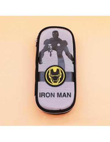 Пенал Marvel Iron Man серый