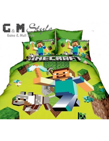 Детское постельное белье Minecraft комплект 150