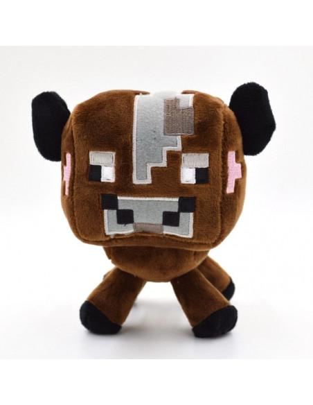 Мягкая игрушка Корова Коричневая Minecraft 18 см