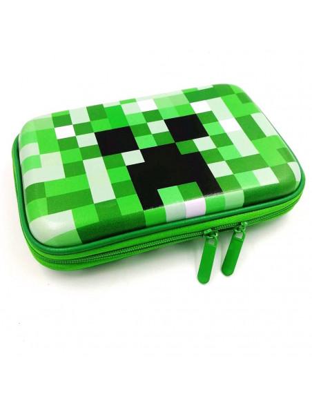 Пенал школьный Minecraft Creeper жесткий