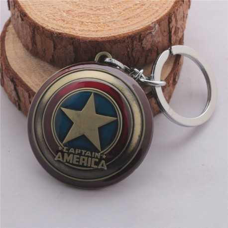 Брелок Marvel Captain America под старину