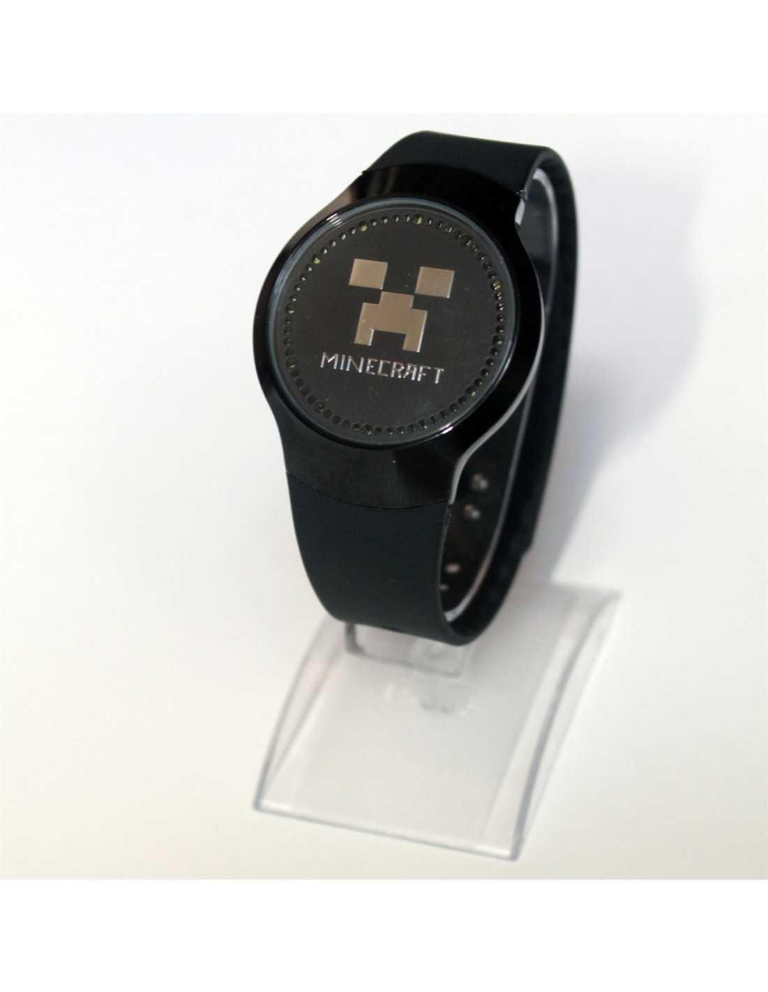 Сенсорные светодиодные часы LED Майнкрафт