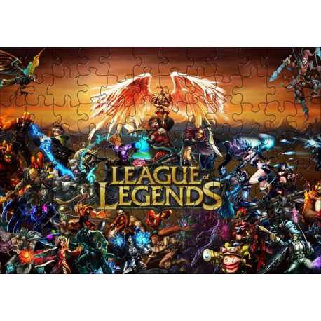 Пазл League of Legends