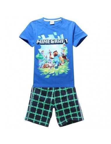 Легкий костюм на мальчика Minecraft