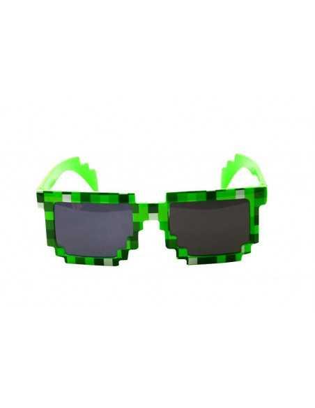 очки Minecraft зеленые