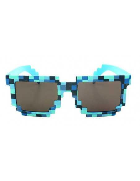 очки Minecraft синие