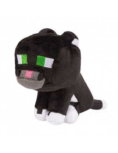 Мягкая игрушка Кот Майнкрафт черный