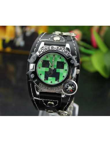 Детские часы Minecraft Creeper Watch
