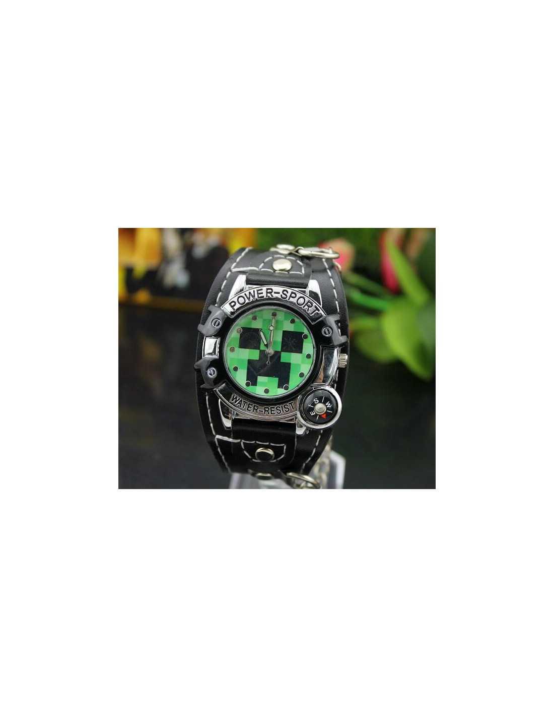 Детские часы Minecraft Creeper Watch