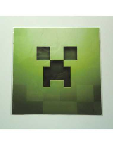 Поздравительная открытка Minecraft Крипер Оригинал