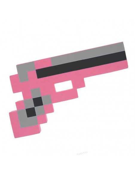 Розовый пистолет Minecraft