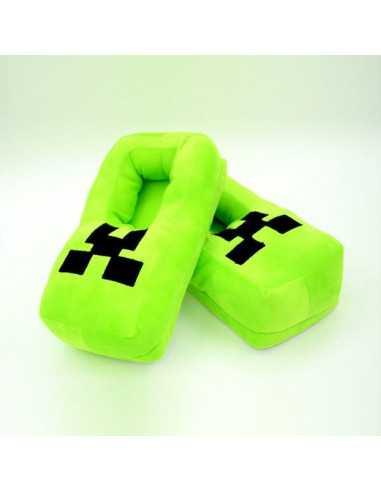Тапочки Minecraft плюшевые