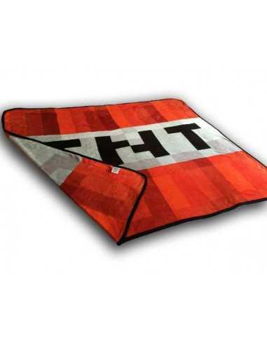Флисовый плед Minecraft TNT Оригинал