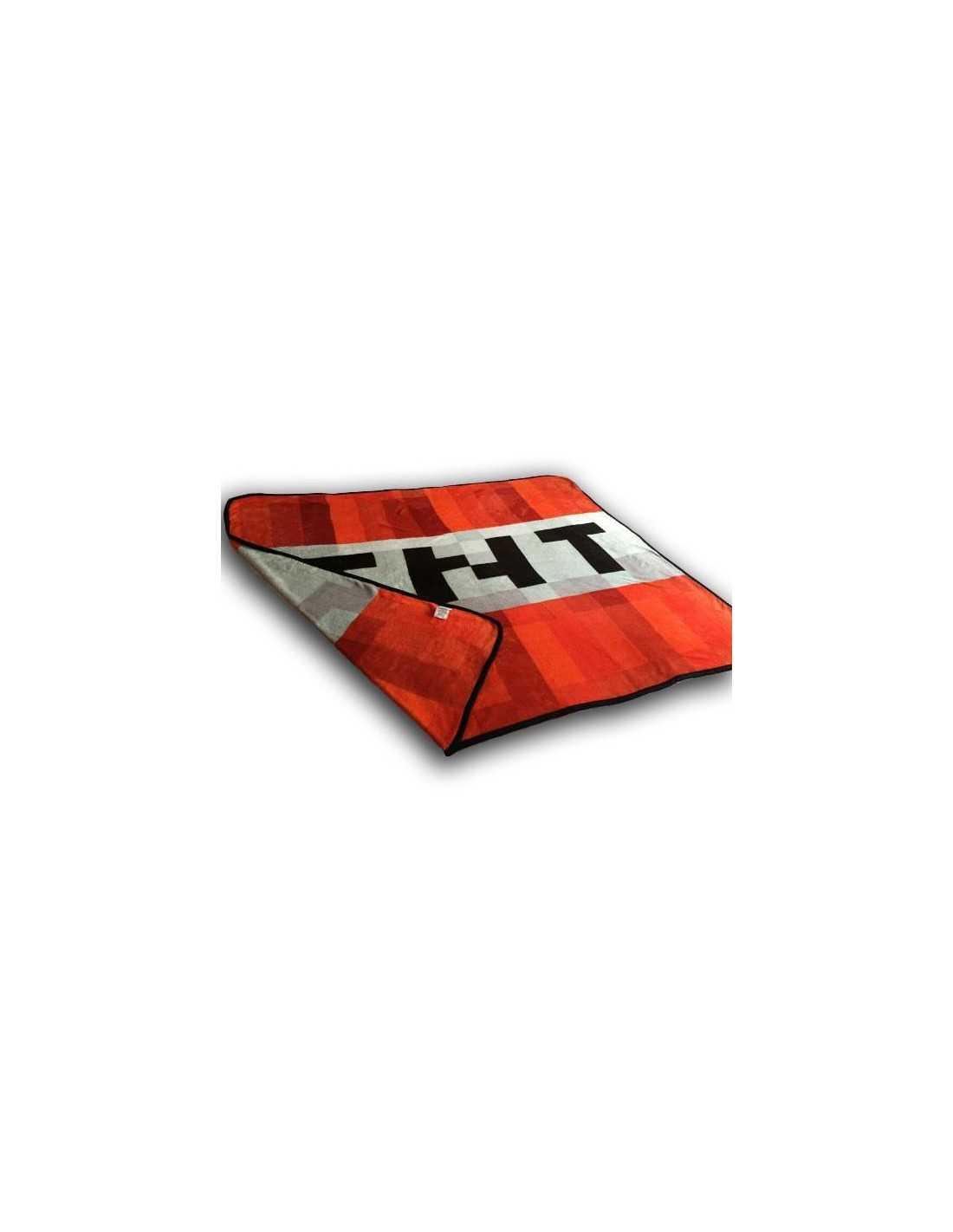 Махровое полотенце Minecraft TNT