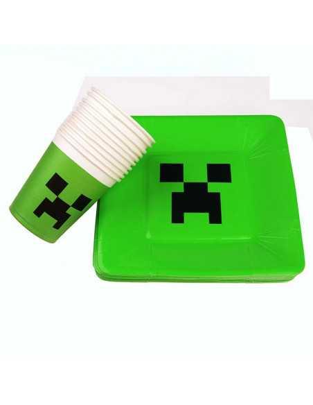 Стаканчик бумажный Minecraft Cupkids