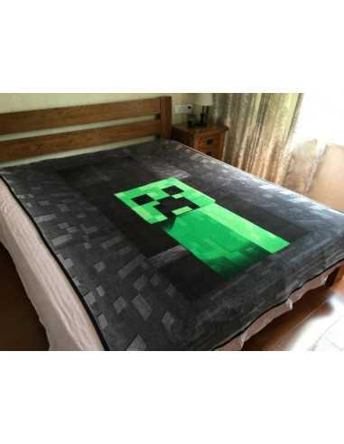 Флисовый плед Minecraft Creeper Оригинал