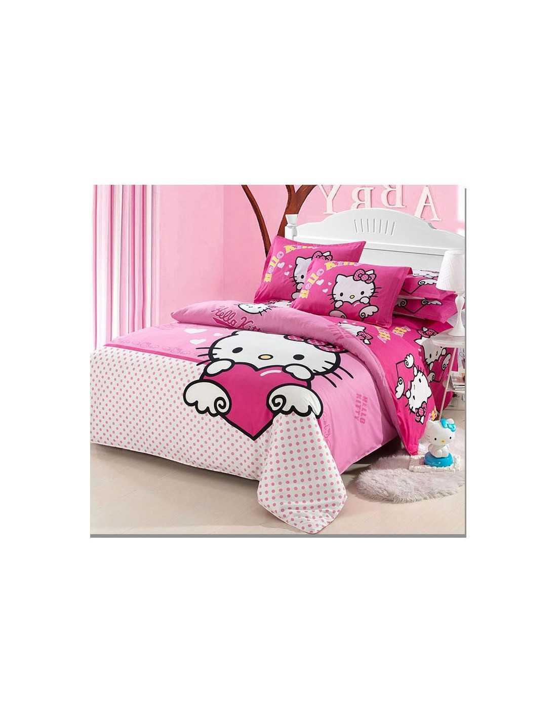 Детское постельное белье Hello Kitty