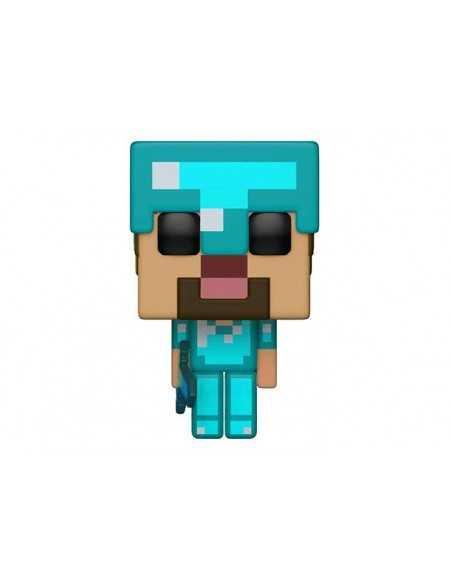 Фигурка Minecraft Steve Diamond Funko POP 323