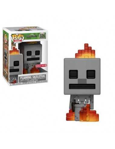 Фигурка Minecraft Falming Sceleton Funko POP 326