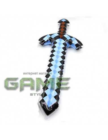 Большой надувной Алмазный меч Minecraft